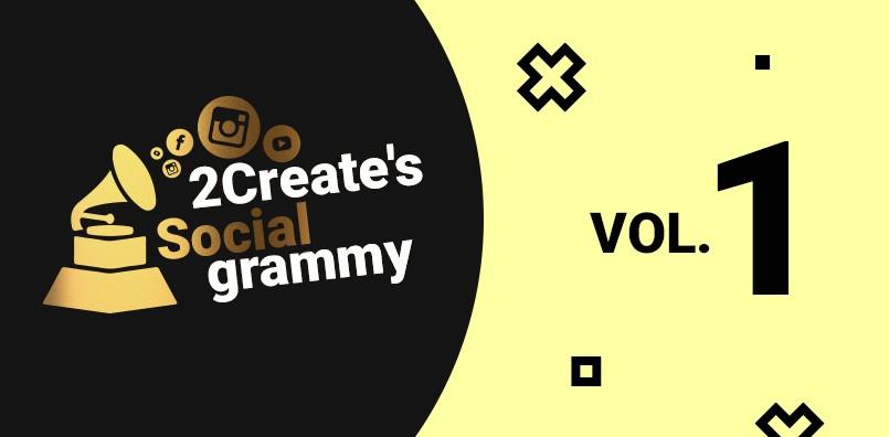 2create's Socialgrammy VOL.1: STAVBY, PEXESÁ A OBRIE FĽAŠE