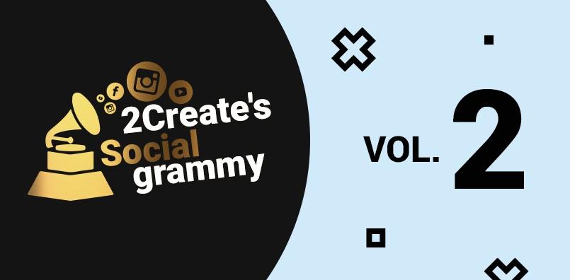 2CREATE'S SOCIALGRAMMY VOL.2