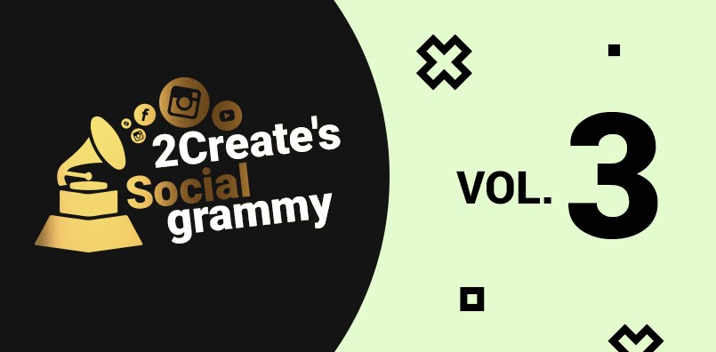 2create's Socialgrammy VOL.3