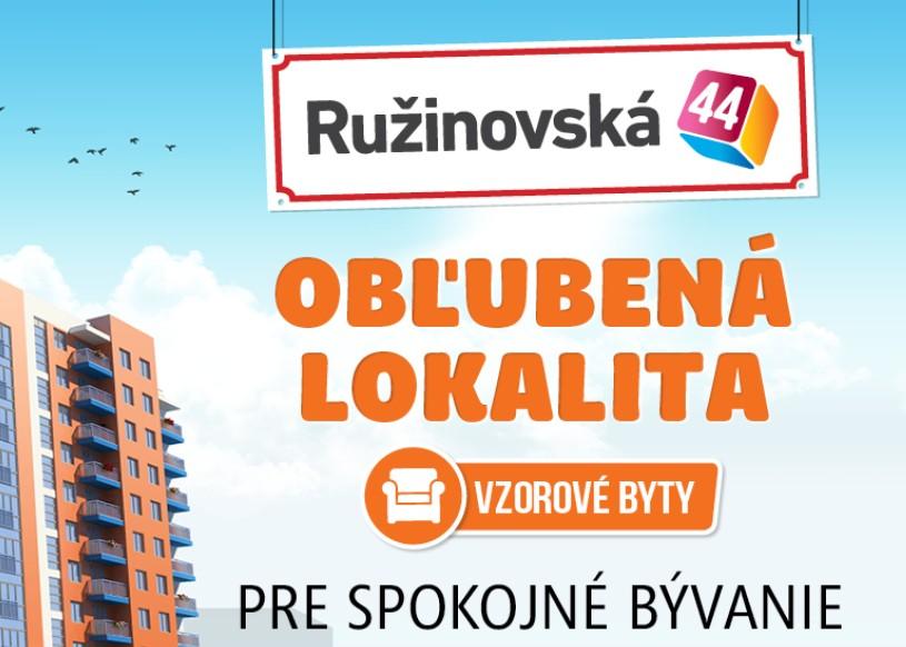Ružinovská 44 - vzorové byty