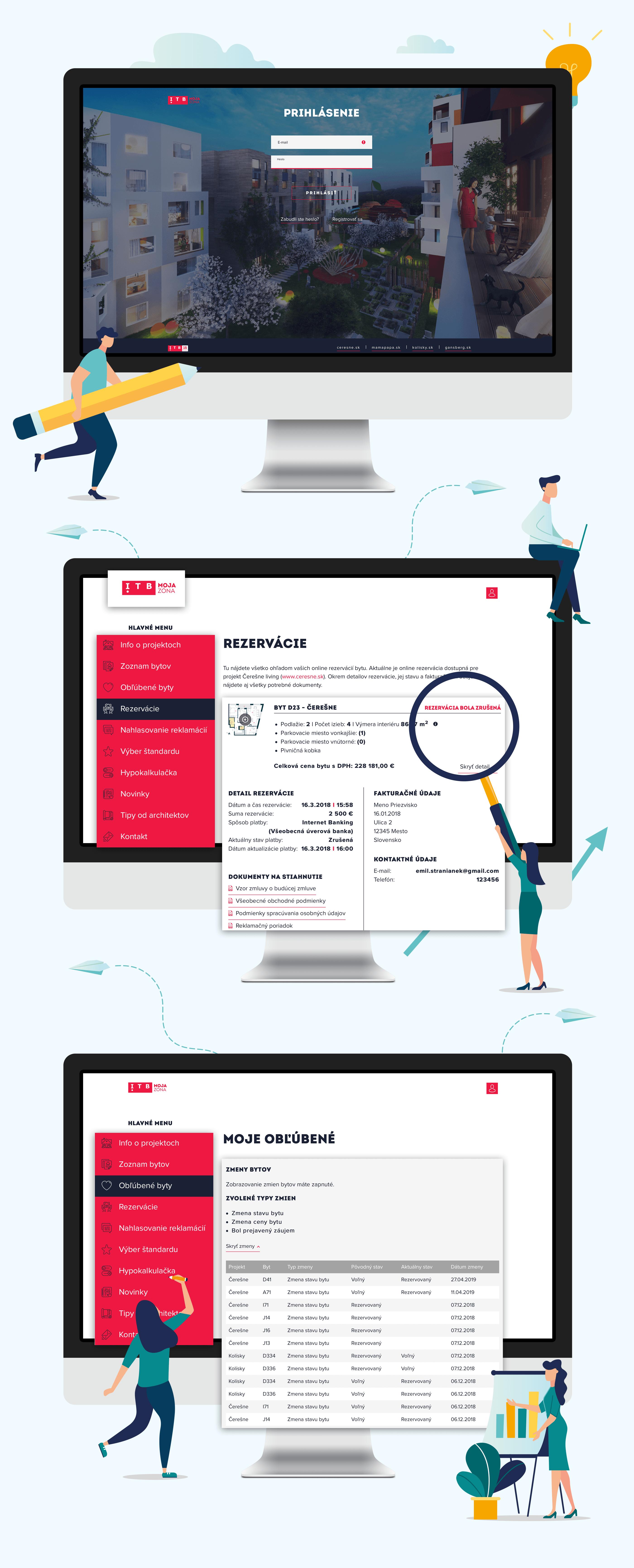 ITB klientská zóna